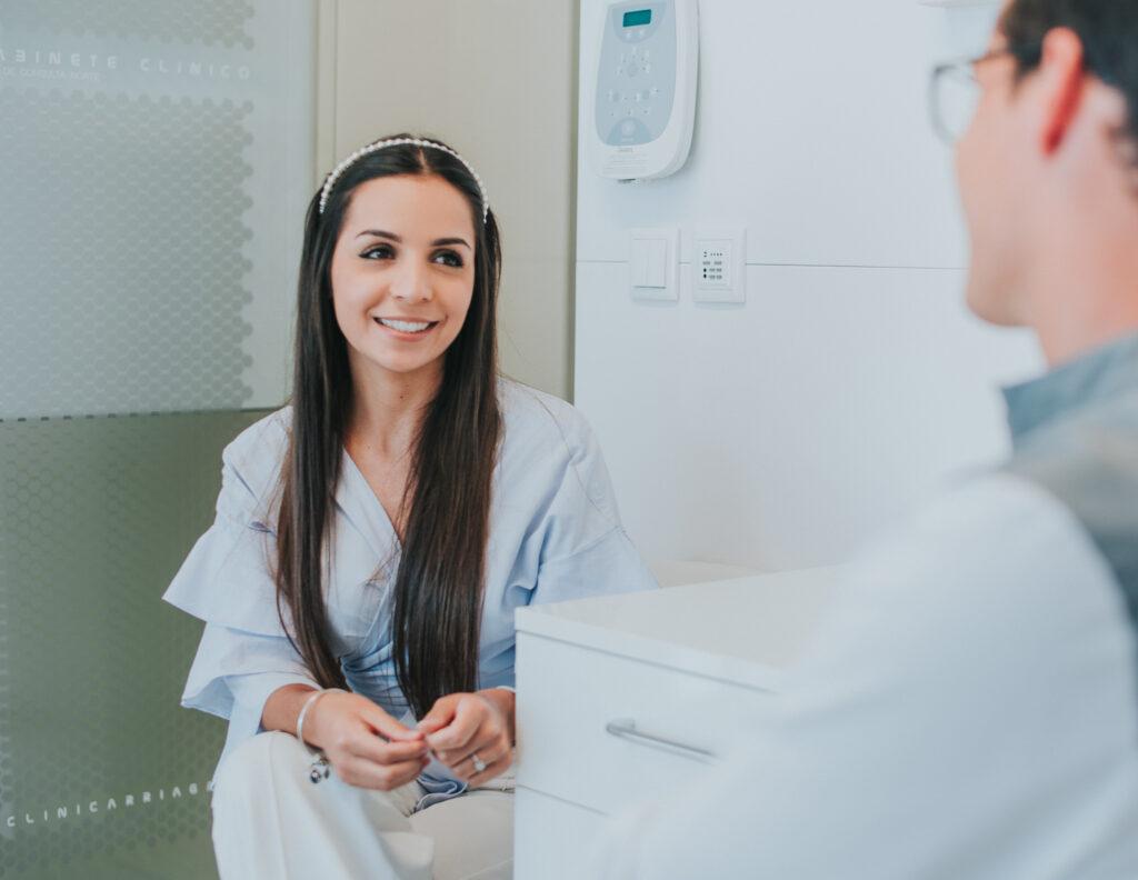 A primeira vez no médico dentista